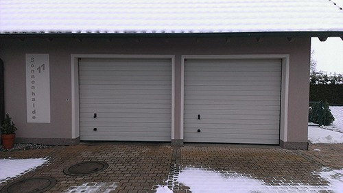 Aussenputz Garage